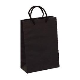 荷包袋手提紙袋4K大6K黑色無印