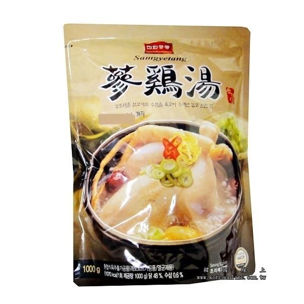 韓國傳統蔘雞湯 人蔘雞湯調理包  - 1000g 入口即化 韓國原裝進口