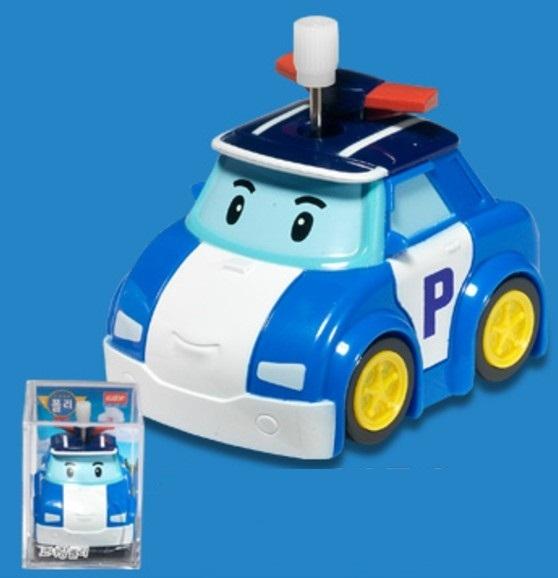 波力轉彎發條車/ CORNERING SERIES-POLI / 無須電池/ 救援小英雄 / 伯寶行