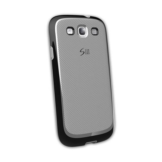 AproLink Samsung Galaxy S3 i9300 菱格雙料保護殼(公司貨) 雙料材質 保護套 (f裸裝)