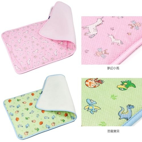 韓國GIO Kids Mat 超透氣排汗嬰兒床墊【M號】 (夢幻小馬/恐龍寶貝)[衛立兒生活館]