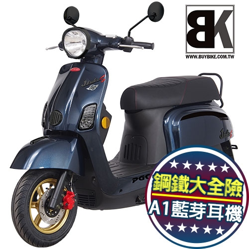 【買車抽鐵三角】J-BUBU 125 ABS 跑車特仕版 送藍芽耳機 鋼鐵大全險(J3-125AIA)PGO摩特動力
