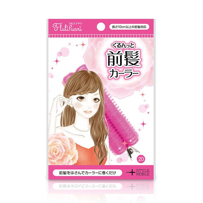 日本Noble梨花空氣感瀏海造型捲髮器1入86小舖