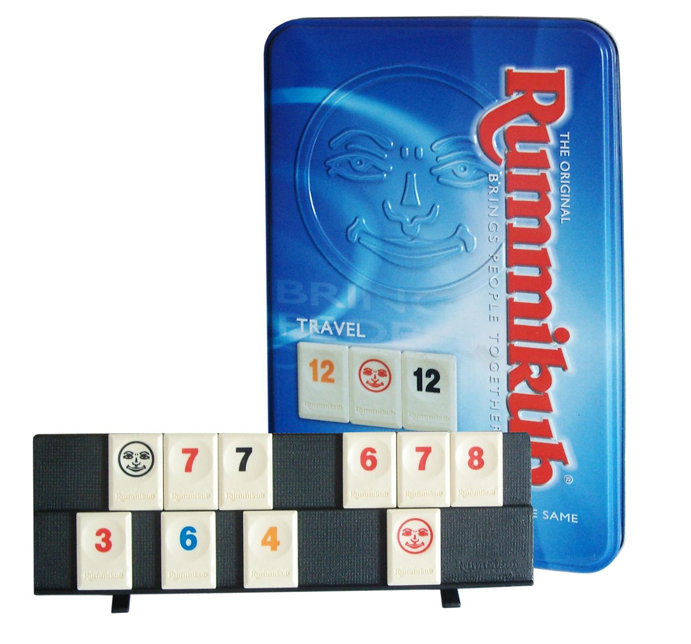 高雄龐奇桌遊拉密鐵盒裝旅行版Rummikub Tin Mini正版桌上遊戲專賣店