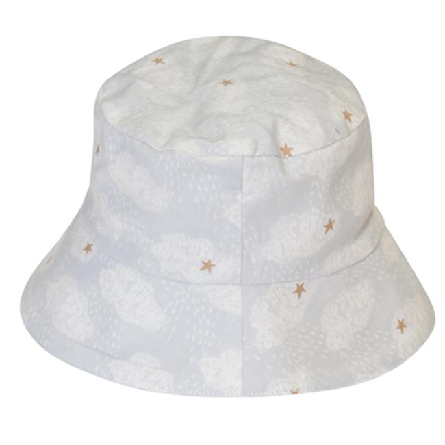 比利時Trixie有機棉遮陽帽童帽~好夢雲朵48 50 52cm