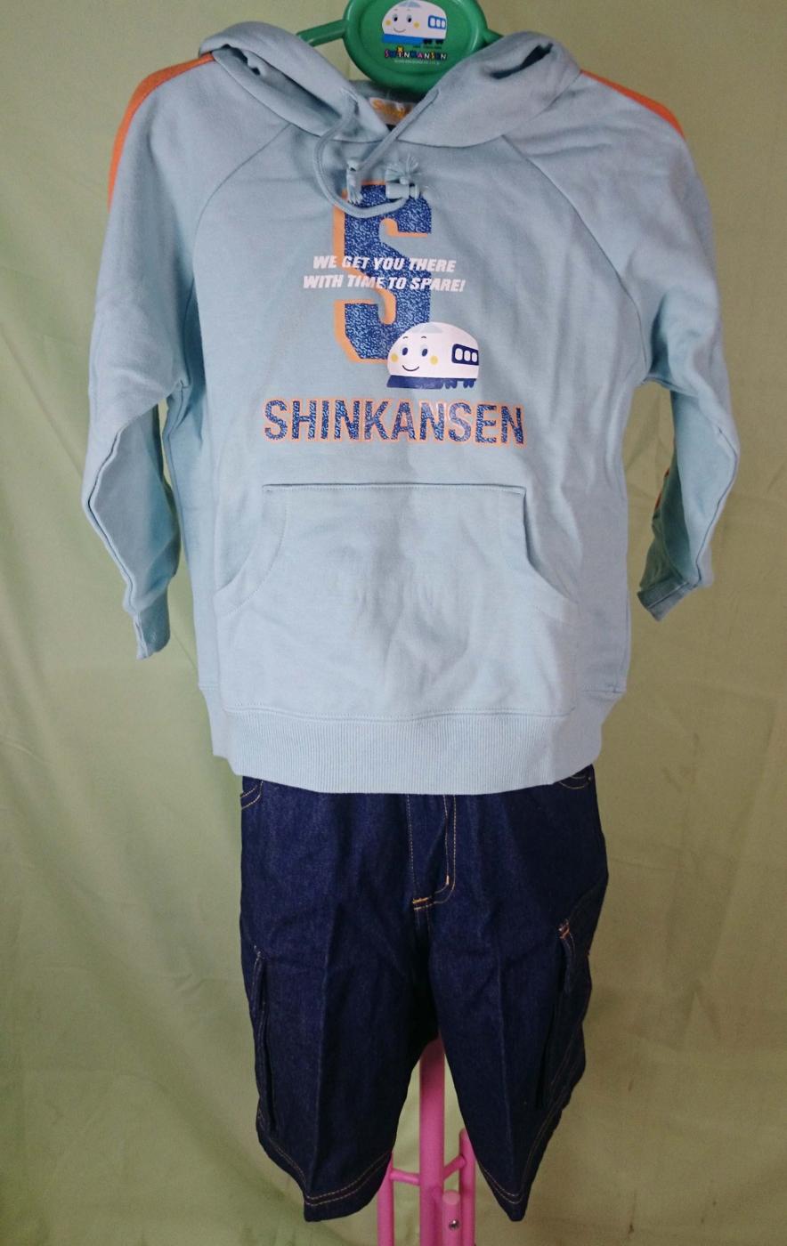 【震撼精品百貨】Shin Kan Sen 新幹線~連帽衣褲