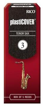 金聲樂器美國Rico Plasticover Tenor Sax 3號次中音薩克斯風竹片黑竹片5片裝
