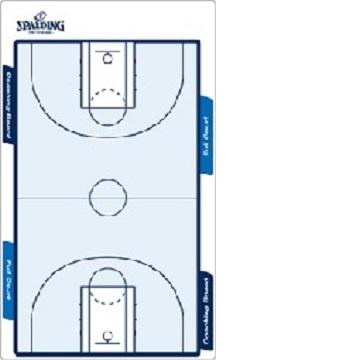 陽光樂活SPALDING斯伯丁籃球雙面大型戰術板SPB85004