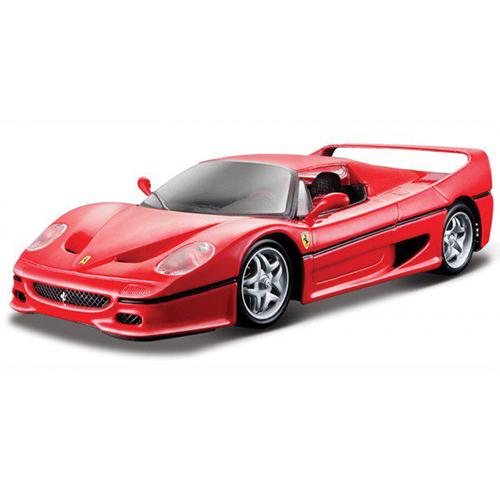 限時68折Bburago 1 24法拉利-F50跑車模型車JOYBUS玩具百貨