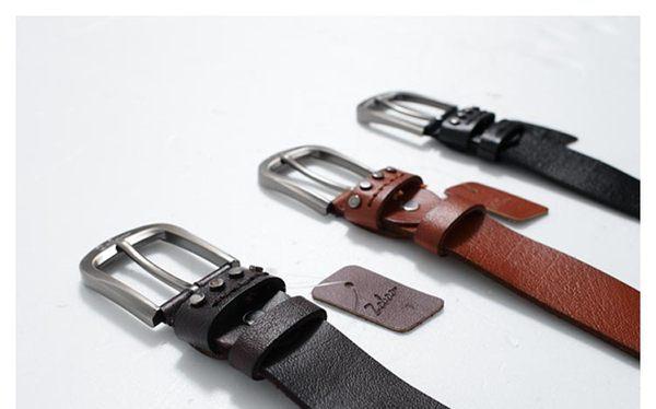 【男人幫】X0133*時尚單品【時尚皮革真皮皮帶】首爾購物節,附禮盒可送人