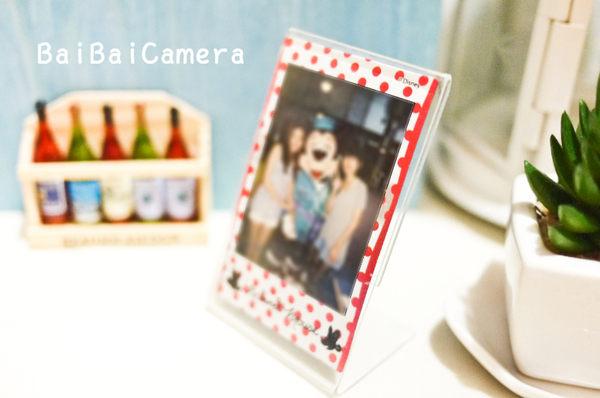 BaiBaiCamera 壓克力(單) 直立式透明相框 mini90 PD233 拍立得 空白 相片 底片 mini 8 50s 7s 25 90 mini8
