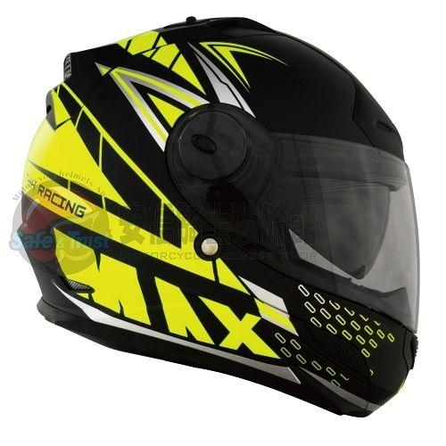 中壢安信THH TS-43A TS43A MAX平光黑螢光黃安全帽全罩安全帽買就送好禮2選1