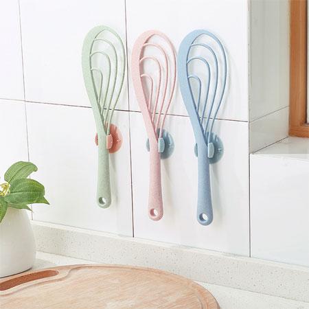 居家小物 飯匙吸盤收納架(顏色隨機) 飯匙 飯勺 飯杓 電鍋 飯鍋 收納 餐具 居家 廚房 創意小物
