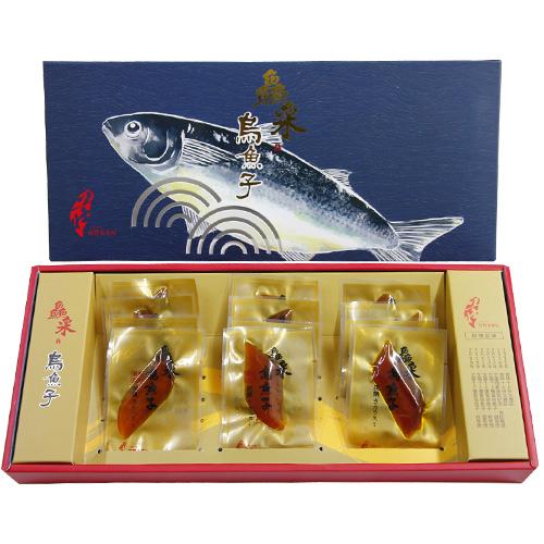 有溫度的烏魚子-莊國顯X鱻采頂級烏魚子一口吃12片裝2盒組