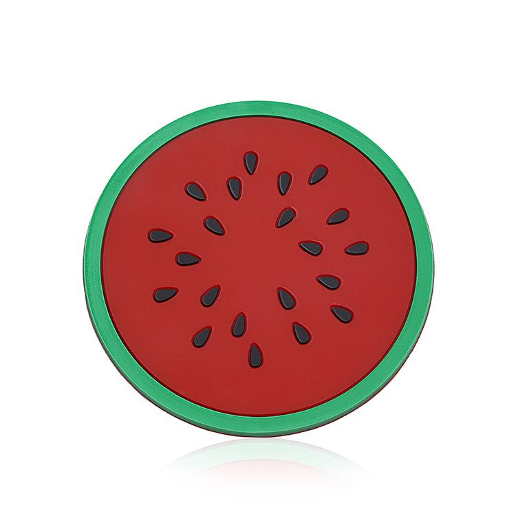 TwinS水果造型矽膠杯墊 創意防滑隔熱杯墊