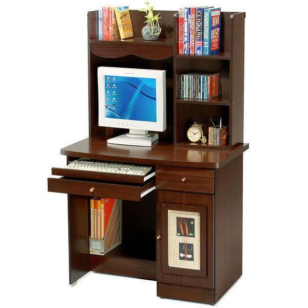 ACCESSCO自然風味電腦書桌上下工作桌NB桌辦公桌書桌胡桃木色