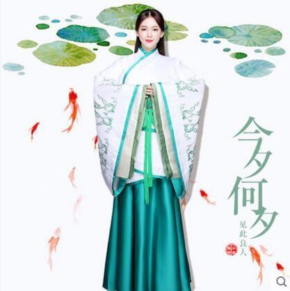 熊孩子cosplay漢服女2017新款改良古裝襦裙主圖款1