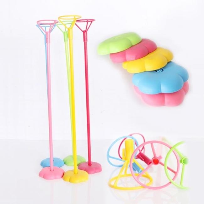 氣球架氣球座1套含棍子托盤底座氣球固定器空飄架子空飄座會場布置塔克