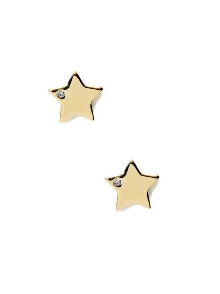 Pixie Grey耳環星形圖案金屬耳環