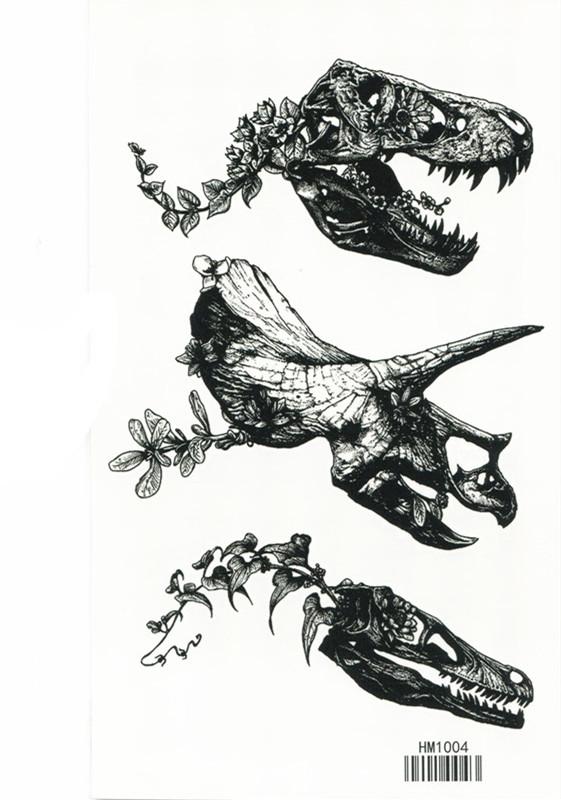 薇嘉雅恐龍紋身貼紙HM1004