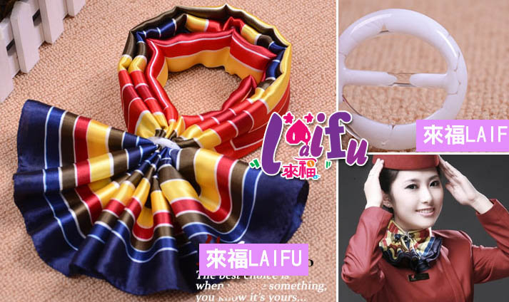 來福,K148方巾絲巾扣領巾圍巾扣,售價25元