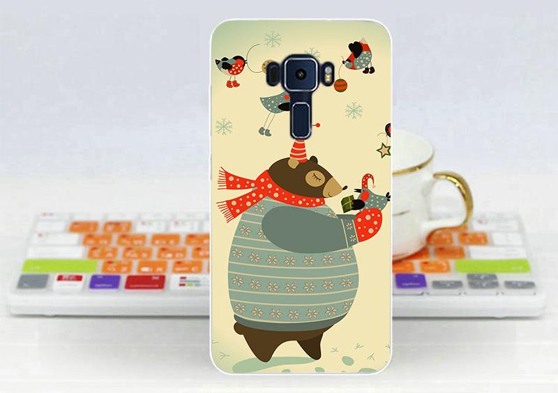 俏魔女美人館胖胖熊軟殼ASUS ZenFone 3 Laser ZC551KL手機殼手機套保護套保護殼