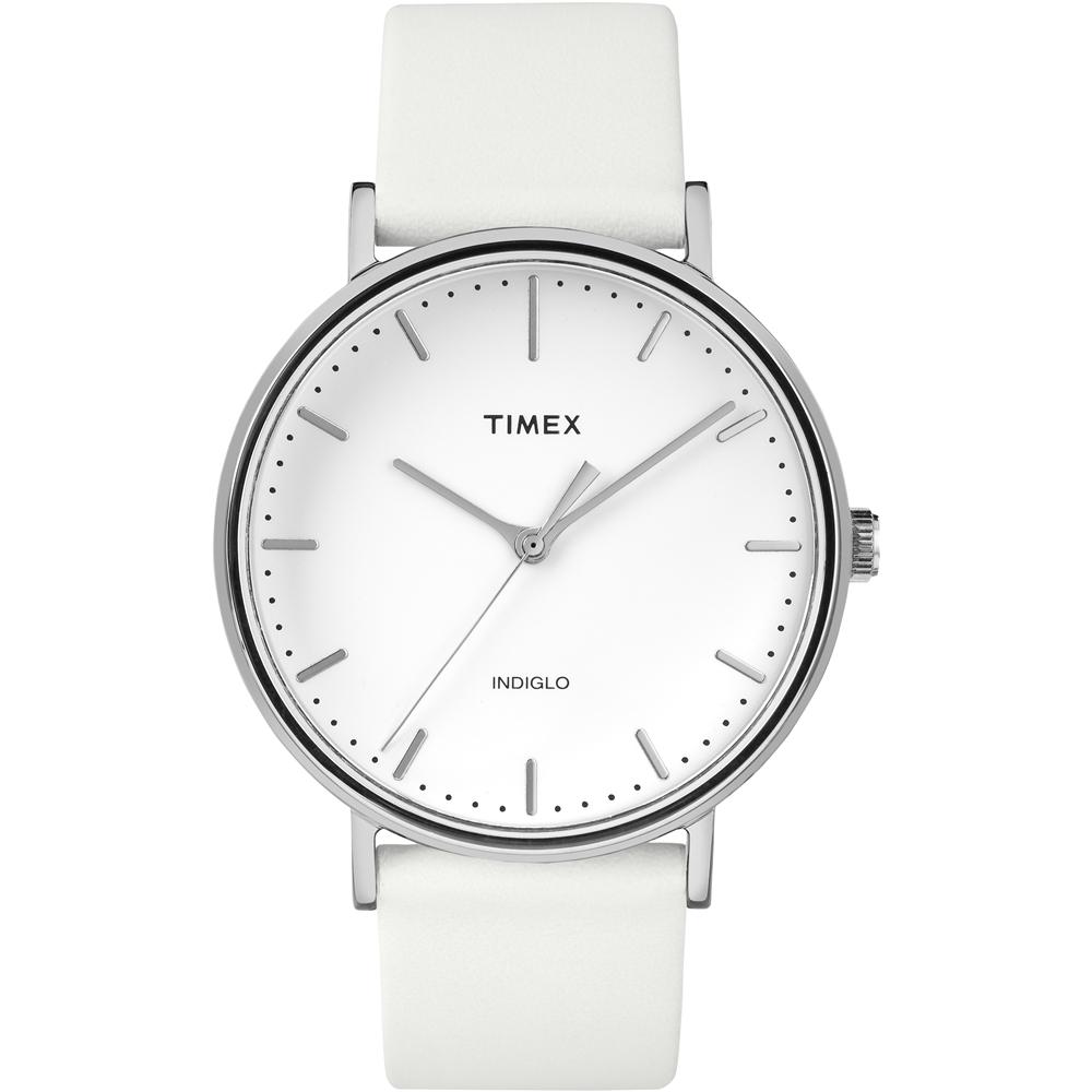 【TIMEX】天美時 週末Fairfield系列 時尚手錶(白 TXTW2R26100)