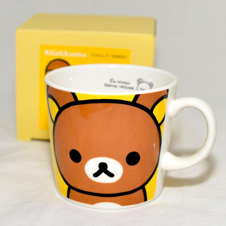 拉拉熊陶瓷馬克杯日本製Rilakkuma
