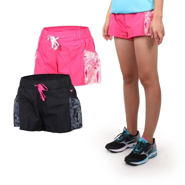 MIZUNO 女平織短褲 (免運 路跑 慢跑 運動 健身 戶外 休閒 美津濃≡威達運動≡