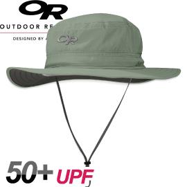 Outdoor Research美國HELIOS SUN HAT輕量抗UV透氣中盤帽草綠圓盤帽防風帽運動帽防曬帽243458