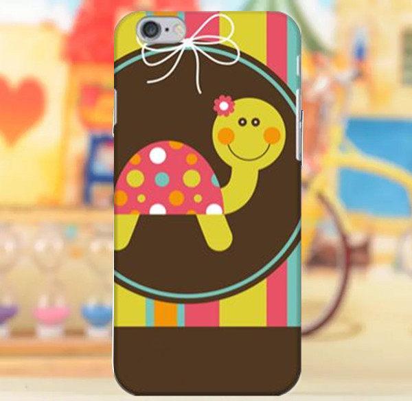 3C膜露露適用Iphone所有型號小烏龜水晶硬殼保護殼保護套手機殼手機套
