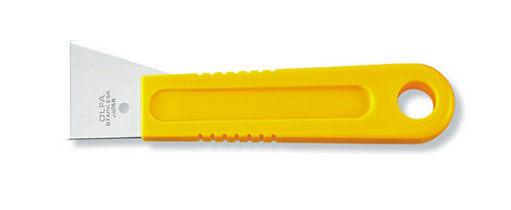 OLFA刮刀SCR-M不銹鋼刮刀寬43mm可水洗磨光與去除異物替換刀片:無
