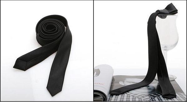 vivi領帶- //時尚百搭 (黑色) 韓版細領帶『商務、結婚、休閒』強力推薦~現貨供應..拉鍊也有