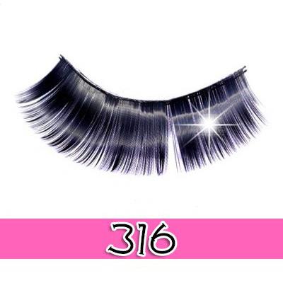 [假睫毛系列]貝拉蓓兒法式電眼假睫毛-316-5對 [47844]◇美容美髮美甲新秘專業材料◇