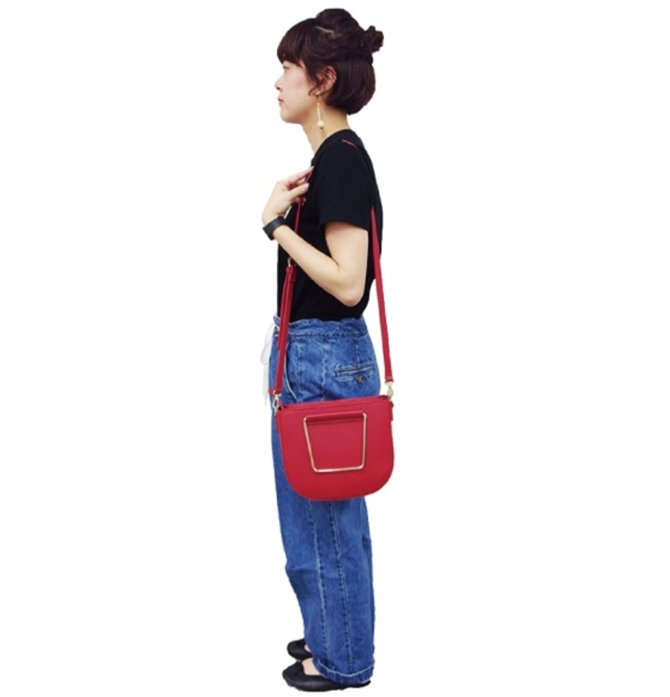 日本Legato Largo秋冬新款皮材質手提斜背包