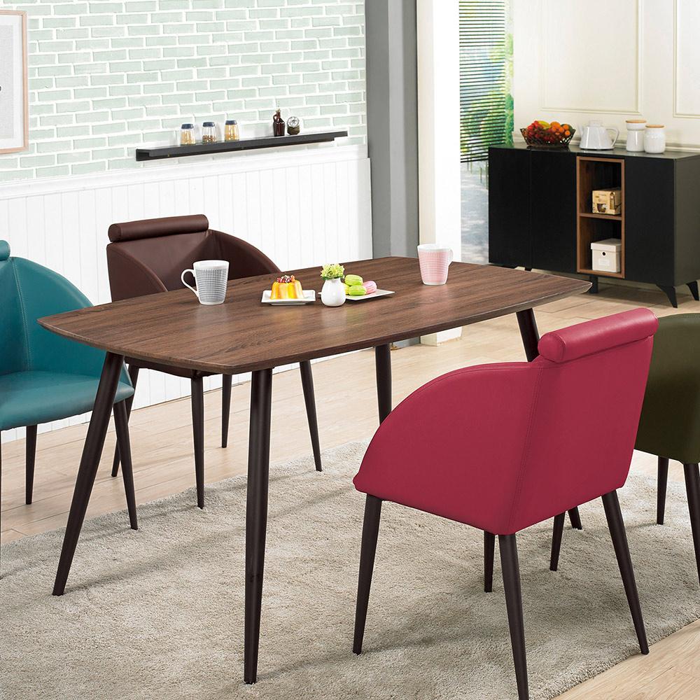 古巴克5尺餐桌(20JS1/864-2)/H&D東稻家居