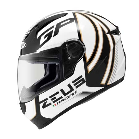 東門城ZEUS ZS811 AL2黑白全罩式安全帽輕量化內襯全可拆流線型帽體設計