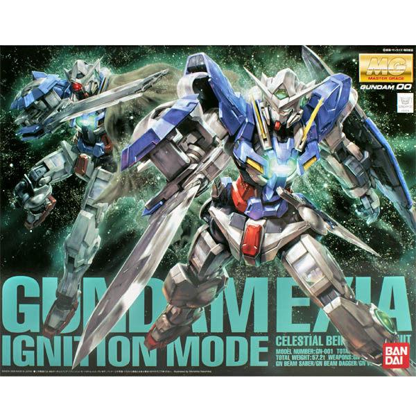 鋼彈00 BANDAI組裝模型 MG 1/100 GN-001 能天使鋼彈 豪華戰損版 EXIA(附LED燈)