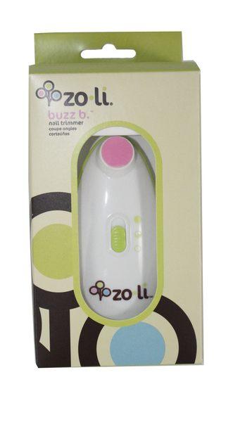 Zoli Buzz B.幼兒嬰兒指甲修剪電動搓刀zoli磨甲機-超級BABY