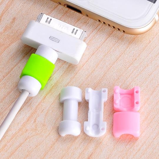 手機週邊 iphone 充電線保護套 繞線器 預防斷裂 保護線 六色寶貝童衣