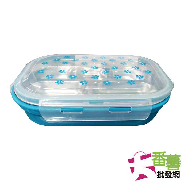 304不鏽鋼五格餐盒 [25A3]-  大番薯批發網