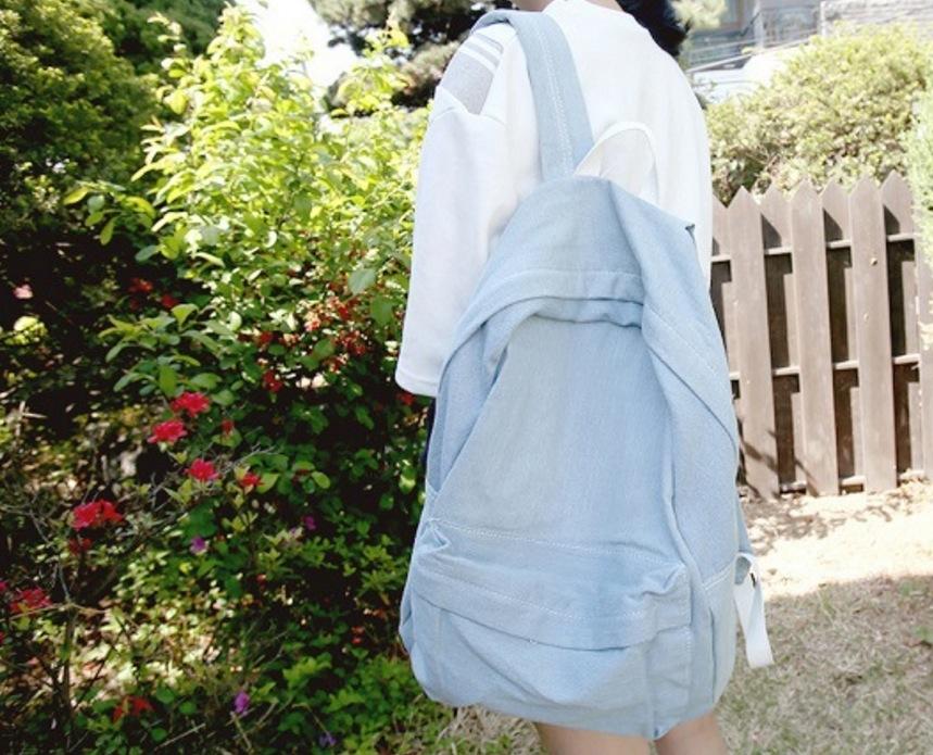 Denim Janes bag熱銷日韓高級牛仔布料牛仔包丹寧包肩背斜背牛仔後背包