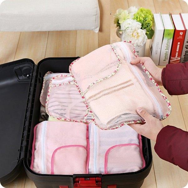 收納袋 旅行衣物收納袋(小)29*22CM 【CTP049】收納女王