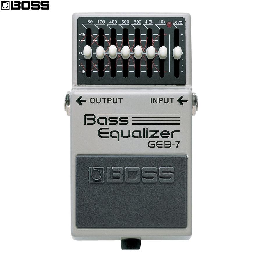 小叮噹的店-效果器BASS貝斯等化器BOSS GEB-7