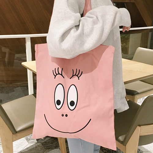 帆布袋 手提包 帆布包 手提袋 環保購物袋--手提/單肩【SPGK7301】 BOBI  05/11