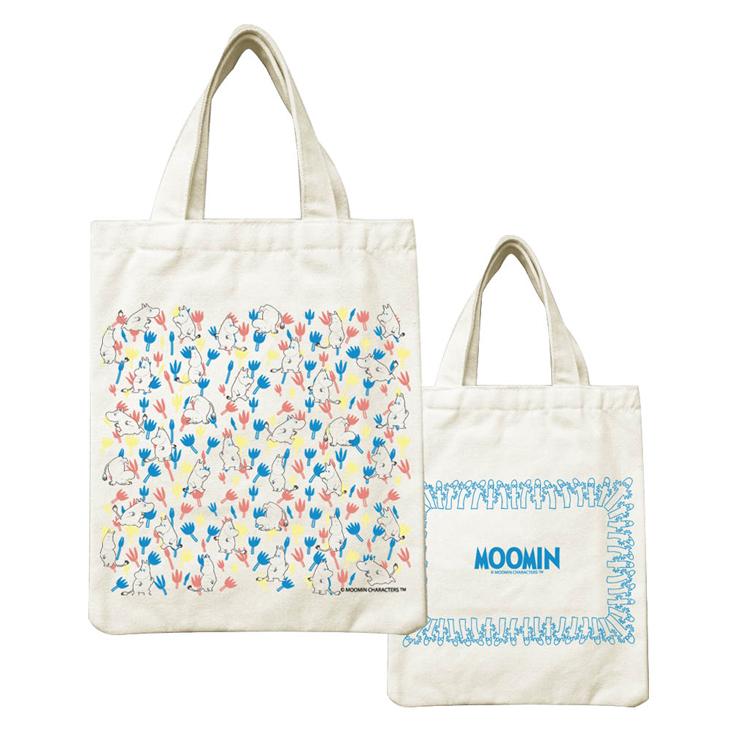 Moomin嚕嚕米正版授權 - 小帆布包:【 Moomin精靈 】