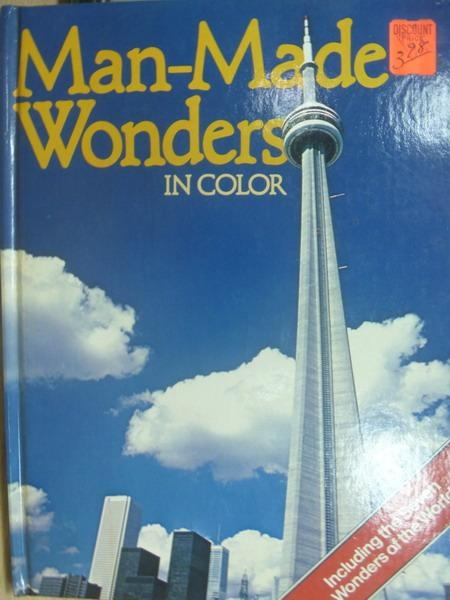 【書寶二手書T4/建築_ZIS】Man-Made Wonders in color