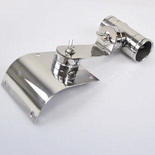 釣箱不鏽鋼配件圓角萬向傘架可自由調節角度垂釣用品