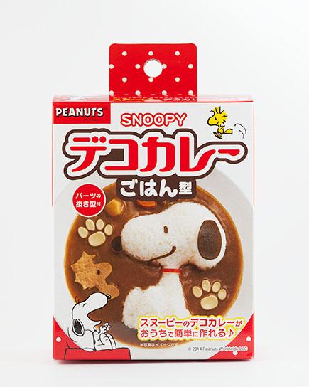 史努比Snoopy_造型飯糰模具_咖哩飯_燴飯模型_壓模器_日本製