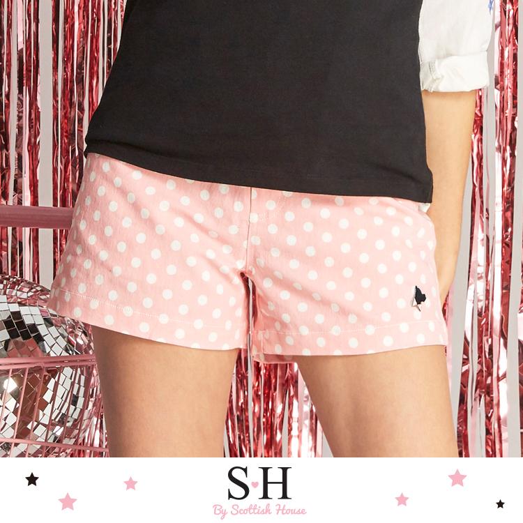 俏麗滿版水波圓點短褲 Scottish House【SB2254】